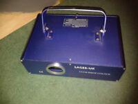 300mw Blue Laser DISCO Light, DMX, ILDA
