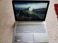 Dell 7000 i7 touch screen laptop vgc warranty