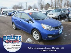 2013 Kia Rio LX! Heated! Low KMS! Trade In! Save!