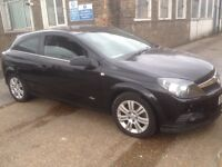 Vauxhall Astra 2008 black , very low mileage 0nly 57000