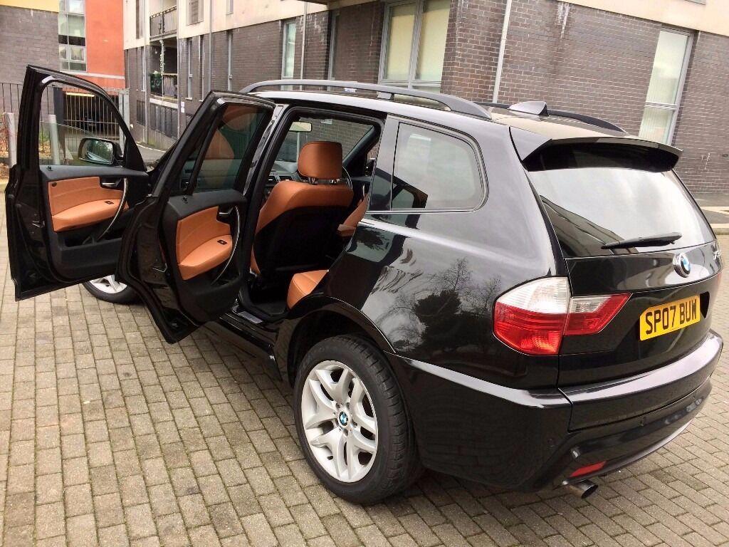 2007 BMW X3 M SPORT BLACK 2.0D 4X4 ESTATE FULL S/H TERRACOTTA ...