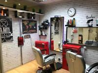 Barber Wanted Part Time Enfield