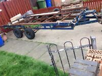 heavy duty trailer ideal for car transport or machine transport £350ono