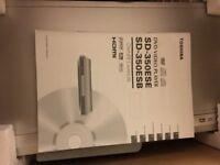 Toshiba DVD Player SD-350E with remote control