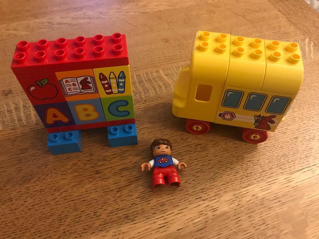 Lego Duplo First School Bus In Ravenshead Nottinghamshire