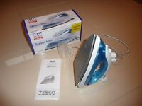 2 x Tesco Steam Iron - brand new in box with instructions
