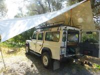 landrover defender 110 - Pull out bed & Rear platform