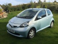 £30 Road TAX 60+ MPG Cheap Insurance TOYOTA AYGO 998cc C1 107 perfect first car BARGAIN ready to go