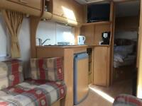 Fixed bed Bailey caravan, great condition. Pageant Bordeaux 4 / 5 birth. Reduced to £6000 to sell.