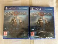 GOD OF WAR GAME - BRAND NEW AND SEALED FOR PS4 - PLAYSTATION 4