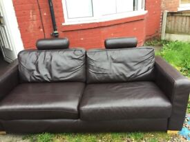 3 seater sofa + chair