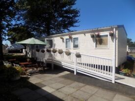8 Berth Caravan For Hire at Haggerston Castle with wheelchair Access