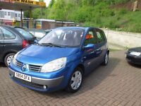 2004 RENAULT SCENIC 1.6 DYNAMIQUE 5 DOOR MPV, 86000 MILES, STARTS AND DRIVES FINE, GOOD CONDITION.