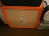 ORANGE 4 x 12 TOP Cabinet in as new condition