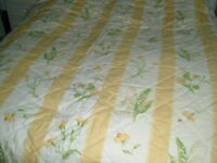 LAURA ASHLEY BESPOKE CURTAINS & BED COVER