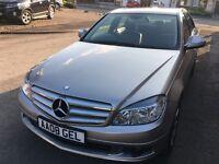 2008 Mercedes Benz C220 CDI 2.1 Diesel - Sat Nav Leather DVD - FSH - Faultless - Bargain C200 C180