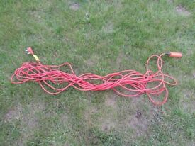 Lawnmower Cable Extension Lead