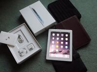 iPad 4 Retina Display, Boxed with All Accessories and 3 Cases