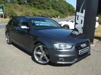AUDI A4 2.0 TDI 177 Quattro Black Edition (grey) 2014