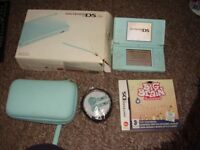 NINTENDO DS LITE WITH GAME AND CASE