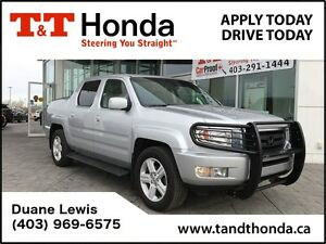 2010 Honda Ridgeline EX-L *Leather, Auxilliary, Sunroof
