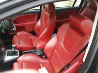 Rare black Ford Modeo STI with red recaro seats, brand new brakes and tyres