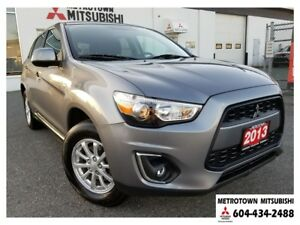2013 Mitsubishi RVR SE 4WD; Local BC vehicle! LOW KMS!