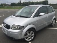 AUDI A2 2001 Y REG RUNS AND DRIVES WELL