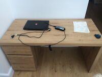 Brand New Teak Desk in Original Packaging