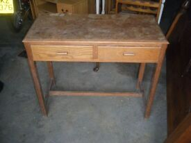 oak style table