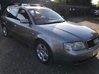 Audi A6 Avant 1.9 TDI SE 1871cc Turbo Diesel Automatic 5 door estate 03 Plate 09/06/2003 Grey