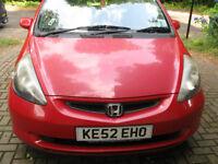 Honda Jazz, 2003, spare or repair