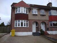 Spacious modern 4 bedroom unfurnished house with off street parking and private garden Morden SM4