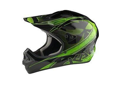 Kali Protectives Us Savara Masquerade Green Dh Helmet