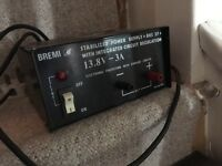 Bremi stabilised power supply
