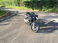 Yamaha MT125 2017 with tail tidy and SP engineering exhaust