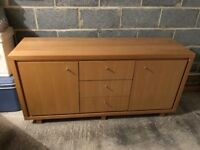 Next - Natural Oak Veneer Sideboard