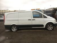 Mercedes vito 2007 year breaking bonnet bumper lights wing alloy wheels seat