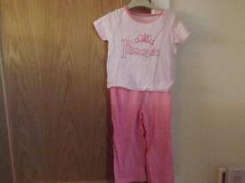 Girls Pyjamas Age 2-3