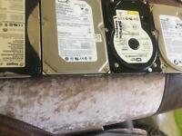 4x harddrives