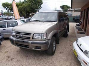 2002 Holden Jackaroo Wagon BACK PACKER CAR 7 SEATER!!!! Sydney Region Preview