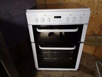 BUSH CERAMIC ELECTRIC COOKER 60 CM DOUBLE OVEN