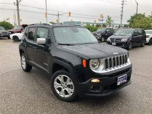 2017 Jeep Renegade LIMITED 4X4**MY SKY SUNROOF**