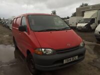 Toyota Hiace 1999 year - Spare Parts Available