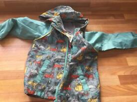 Boys lightweight animal raincoats - age 2/3