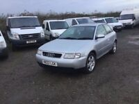 AUDI A3 1600 cc 3 DOOR HATCHBACK IN NICE CONDITION IN AND OUT LOVELY DRIVER LOADS OR HISTORY PX WELC