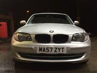 BMW 118D 1 series hUgE spec £30 TaX a year BARGAIN
