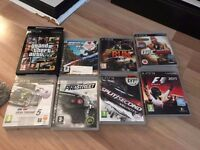 PS3 SUPER SLIM 500GB with one controler and games