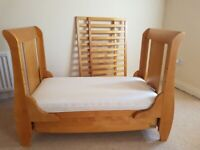 Tutti Bambini Cot Bed with mothercare mattress