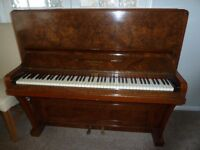 Piano, Chappell & Co Metal framed